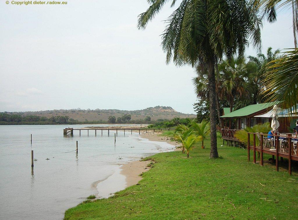 Kwanza Mündung in den Atlantik
