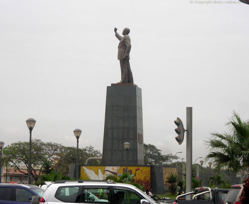 Luanda Freiheitsdenkmal 1975