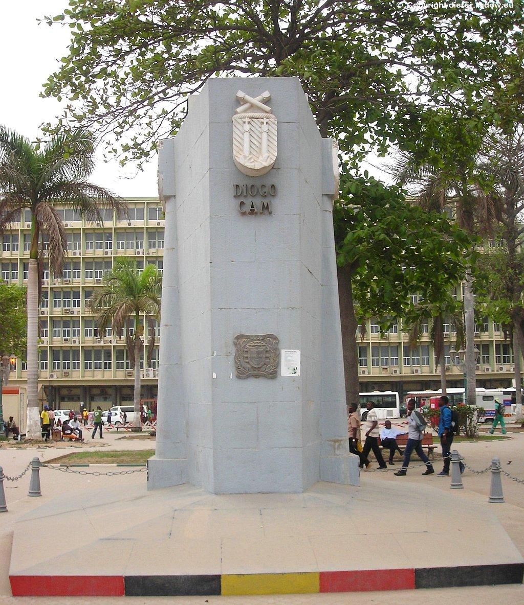 Luanda131 Denkmal zur Entdeckung Angolas durch Diego Cao 1483