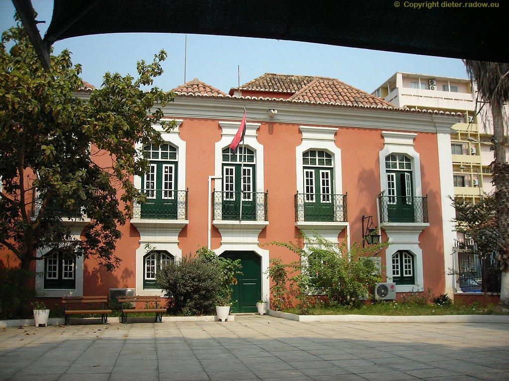 Luanda : Museum für Natural-Geschichte