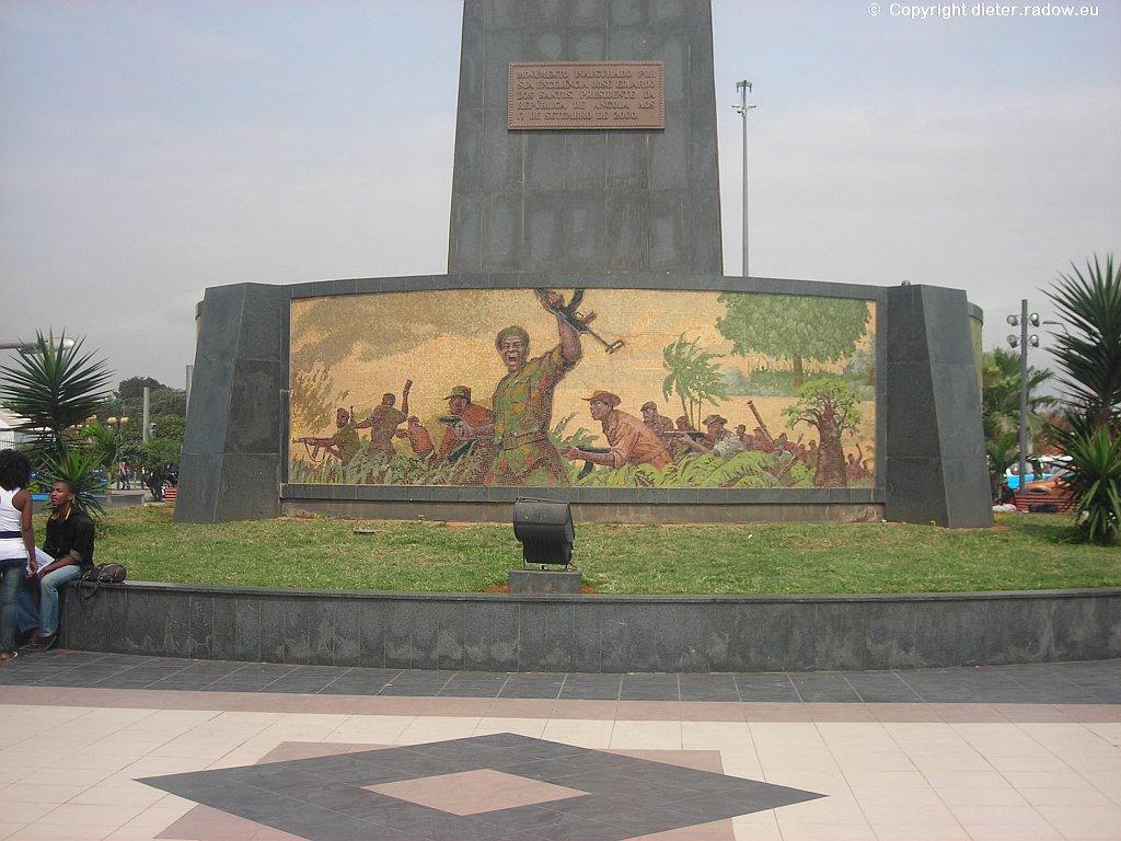 Luanda: Freiheitskampf-Denkmal