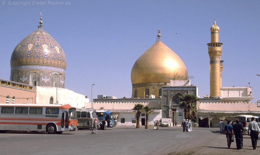 M 2301 Samarra Eingang zur goldenen Moschee