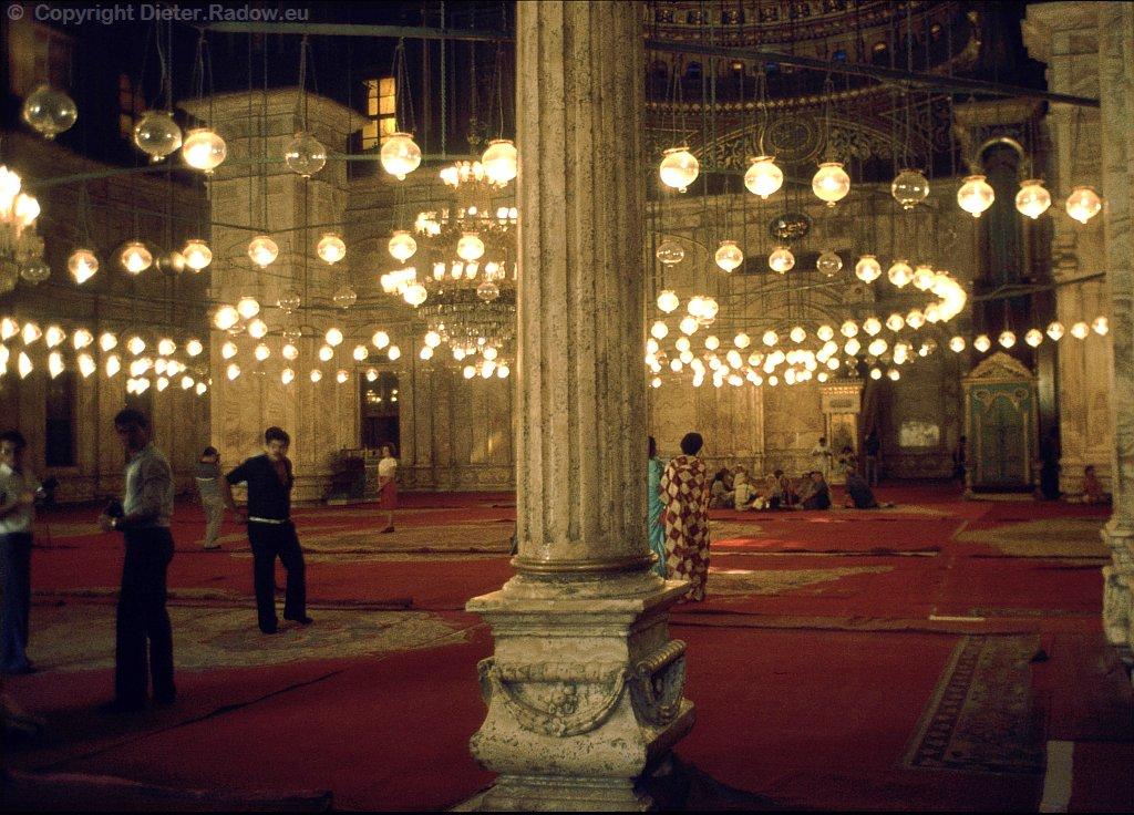 Kairo Muhamed Ali Moschee in der Zitadelle