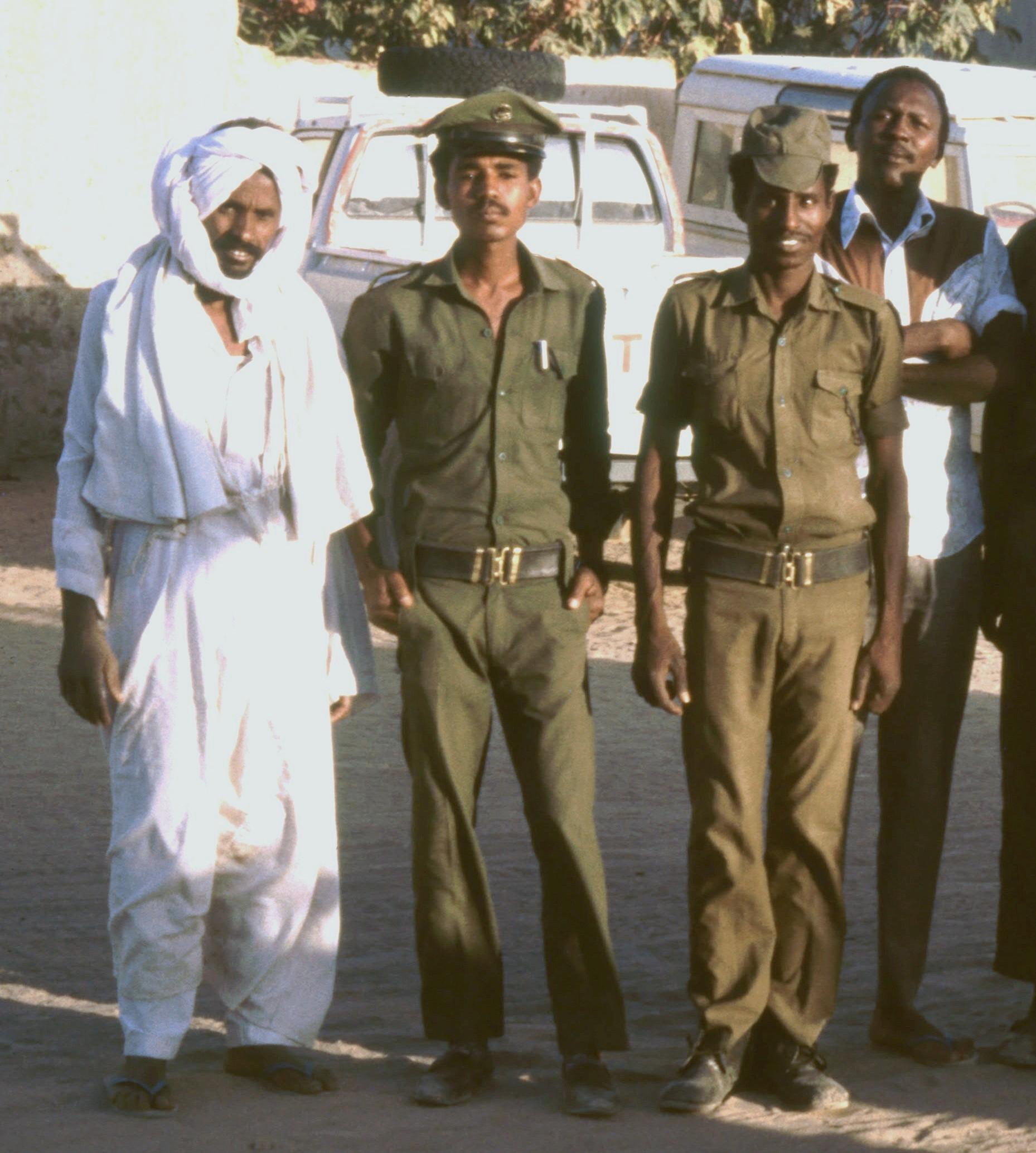 Merowe Polizeisoldaten