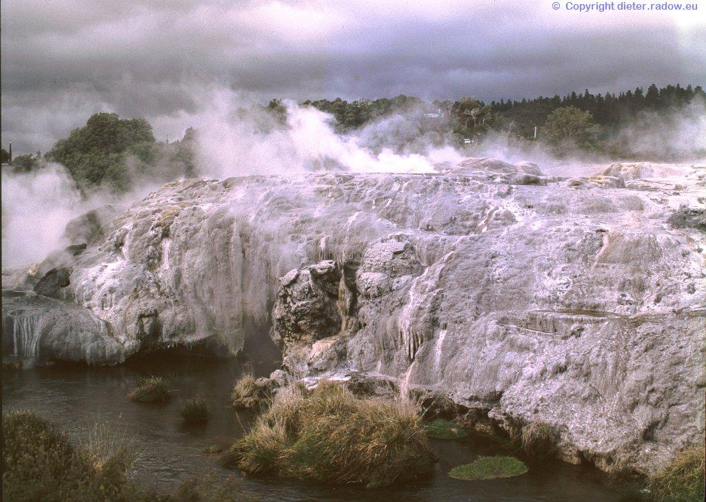 Neuseeland Geysir 7