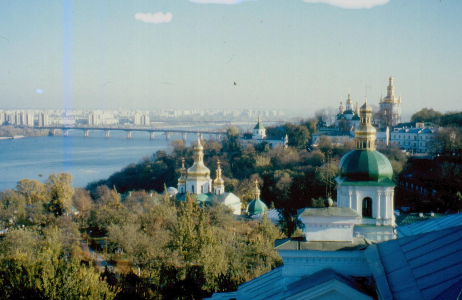 Ukraine - Dnjeper durch Kiew