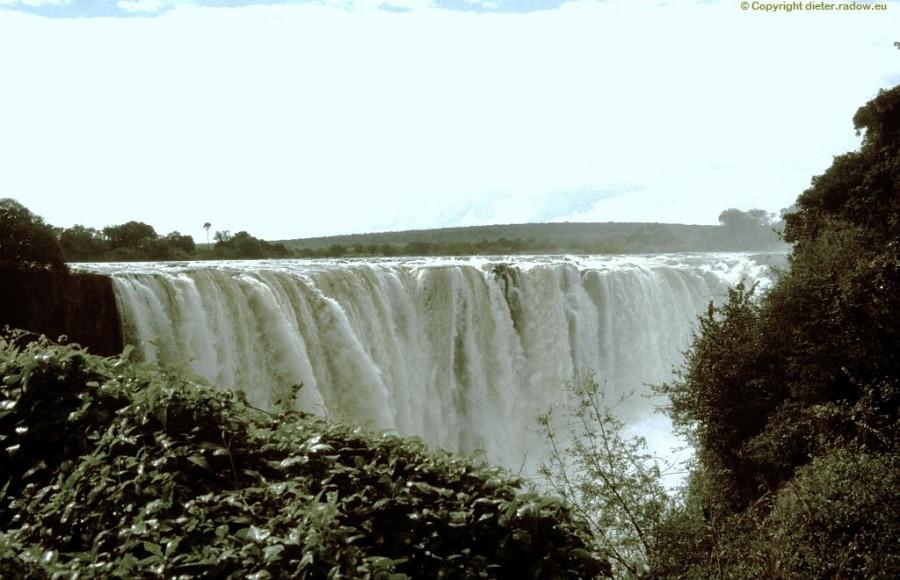 Simbabwe Victoria-Fallkante
