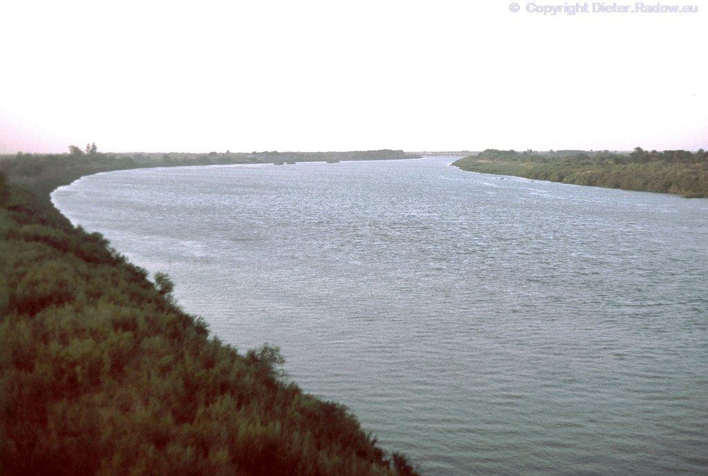 Blauer Nil im Sudan bei Wad Medani