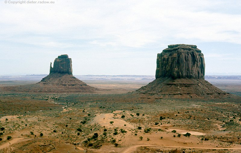 USA Wüste im Monument Valley