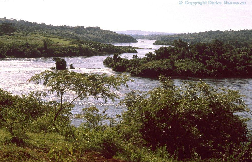 Uganda Oberlauf des Nils