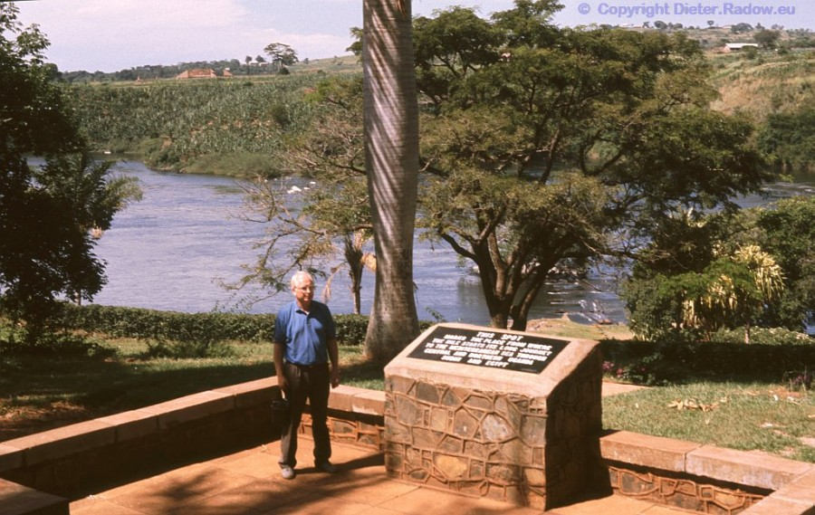 Uganda brit. Geografie