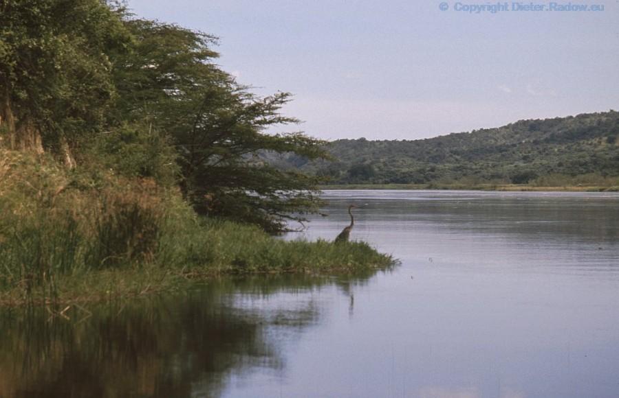 Uganda unterhalb der Stromschnellen