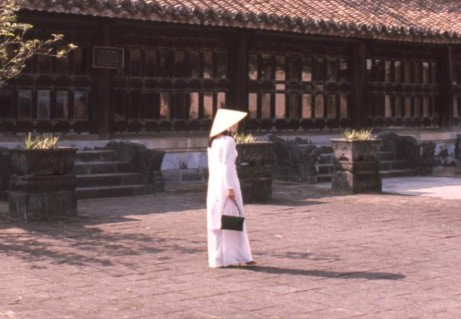 Vietnam Hue mit Madame Butterfly