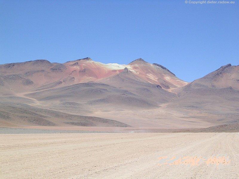 Z Bolivien Alto Plano Gebirgswüste 5