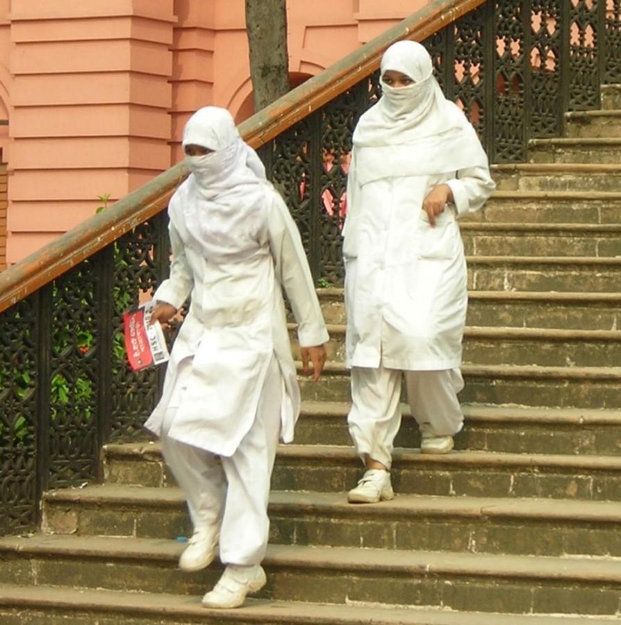 ZT bangla weiße nonnen