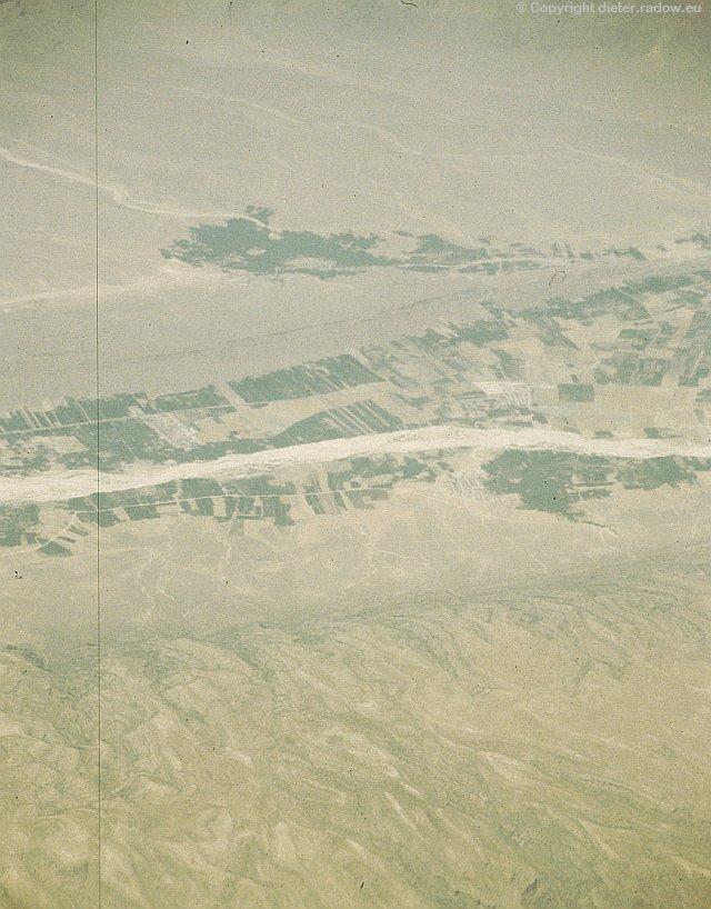 Zv Turkmenistan - Khorasan Karakumwüste mit Flußoase des Amur Darya