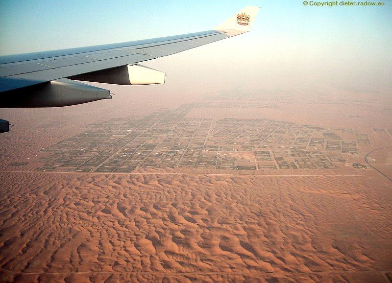 Zz VAE Kultivierung der Wüste bei Al Ain