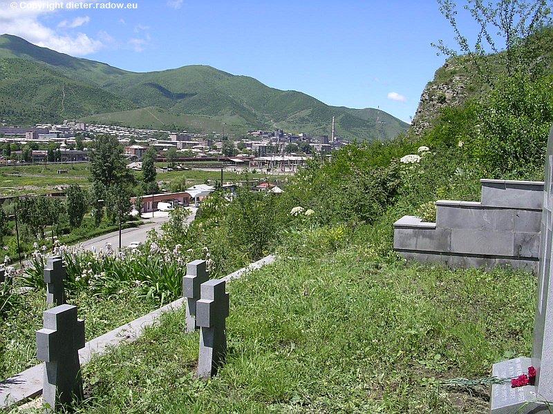 Armenien Kirovakan 1945 Kriegsgefangenengräber