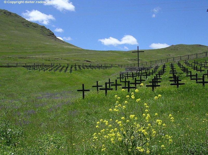 Armenien Spitak 1945 deutscher Kriegsgefangenen-Friedhof