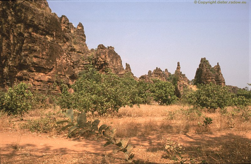 Burkina Faso Felslandschaft 12