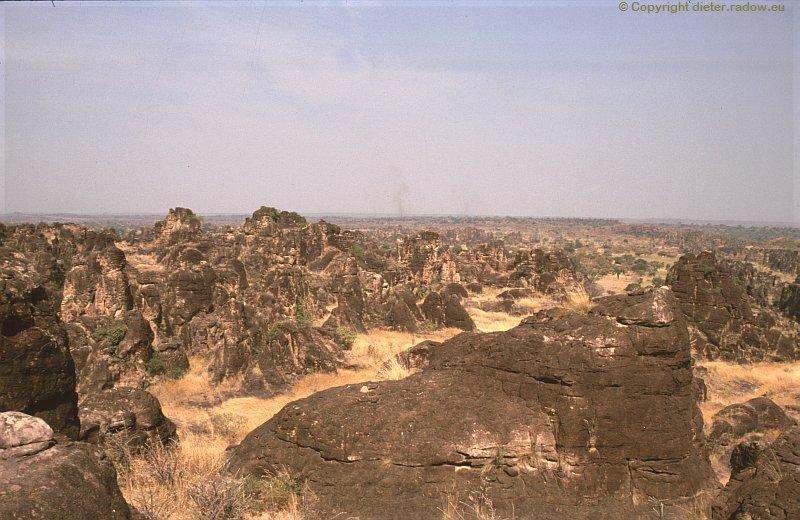 Burkina Faso Felslandschaft 2