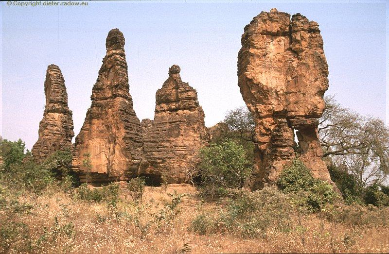 Burkina Faso Felslandschaft 6