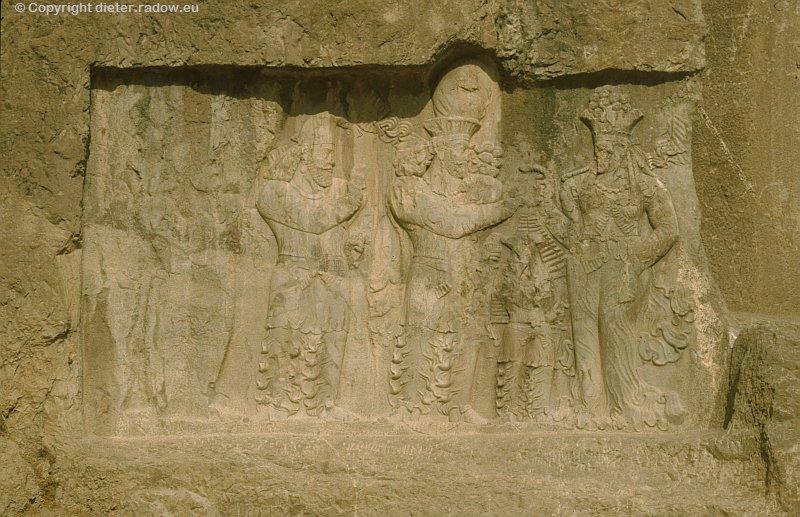 Iran Naqsh-e Rostam achämenidische Königsgräber 3