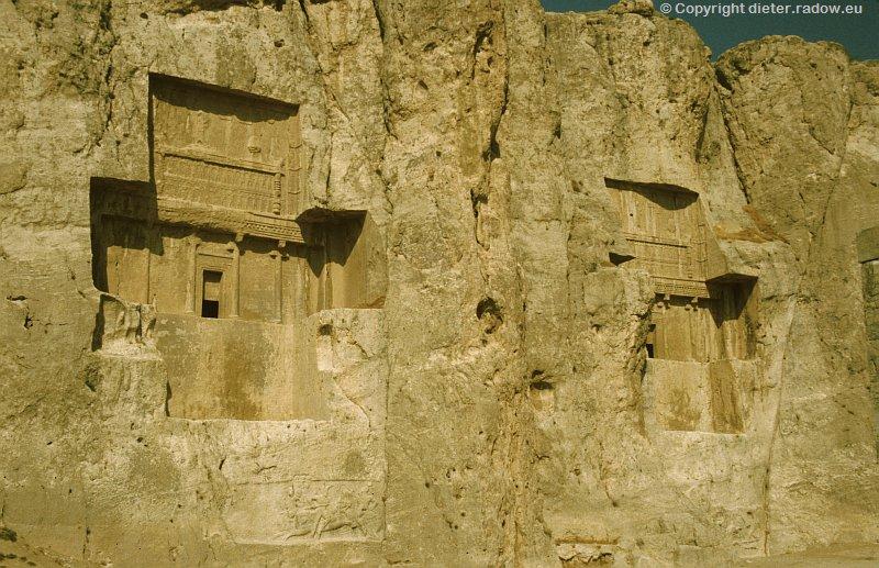 Iran Naqsh-e Rostam achämenidische Königsgräber