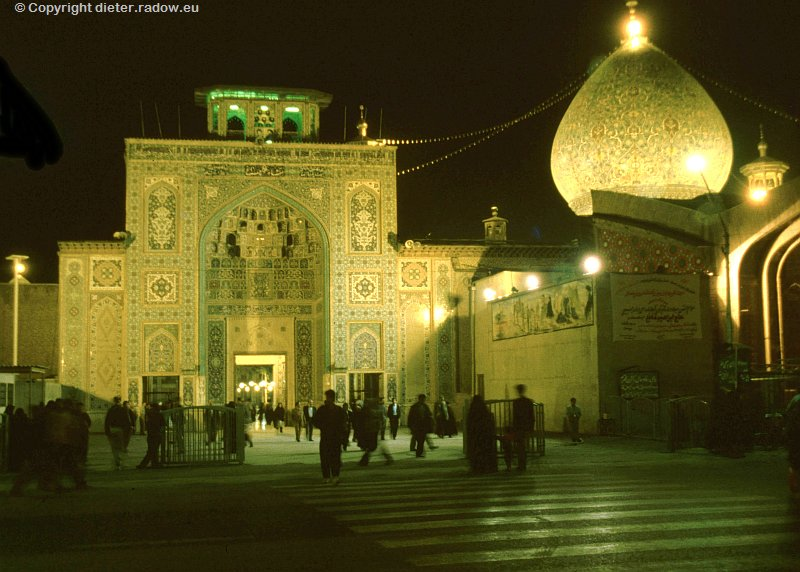 Iran Shiraz  Shah Cheragh-Mausoleum