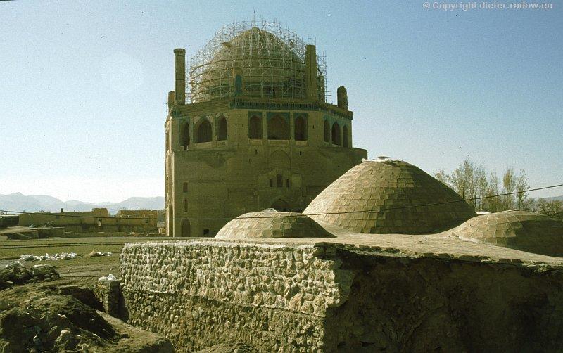 Iran Sultaniya Mausoleuem erbaut für den Propheten