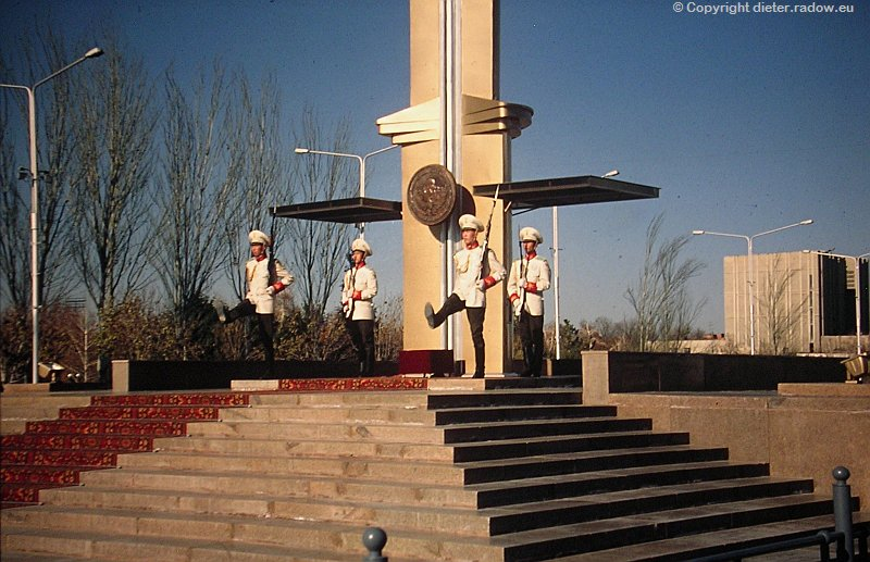 Kirgistan Ehrenwache 4