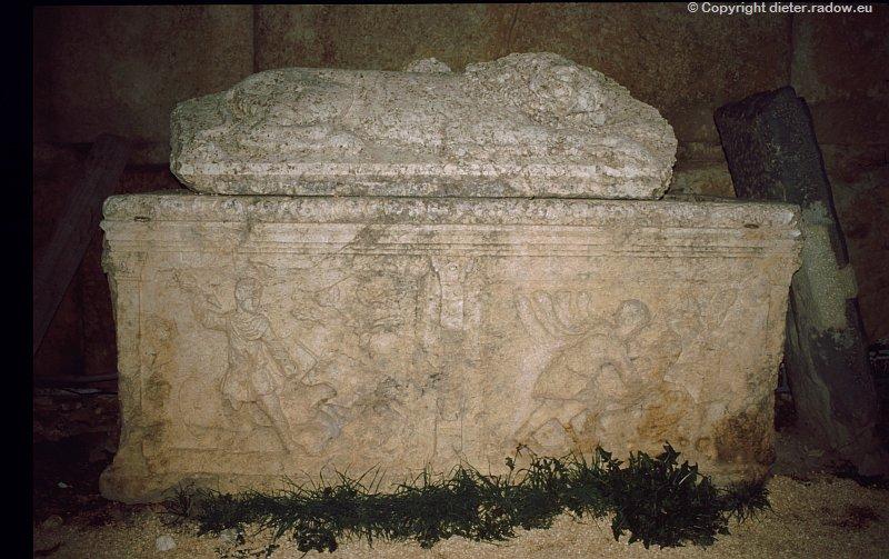 Libanon griechischer Sarkophag