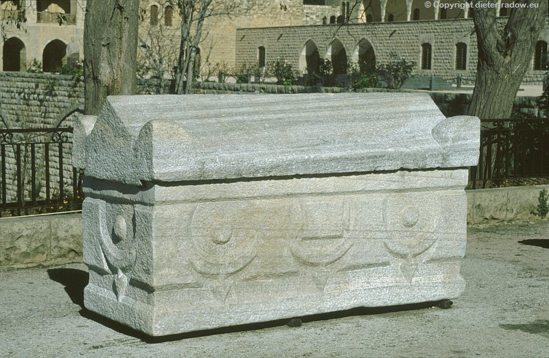 Libanon römischer Sakrophag