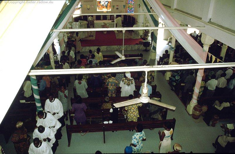 Malawi katholische Kirche in Lomè