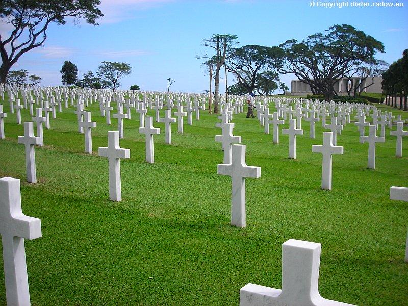 Philippinen Manila 5 Soldatenfriedhof