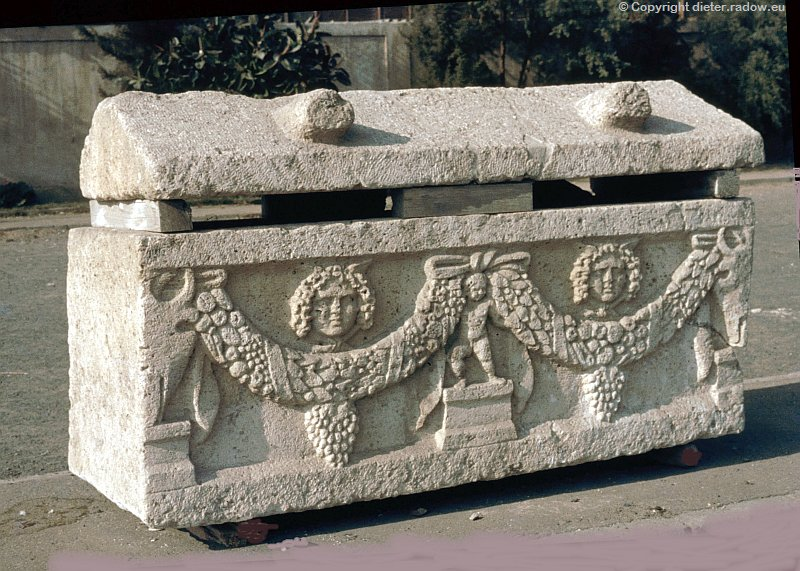 Syrien: römischer Sarkopharg