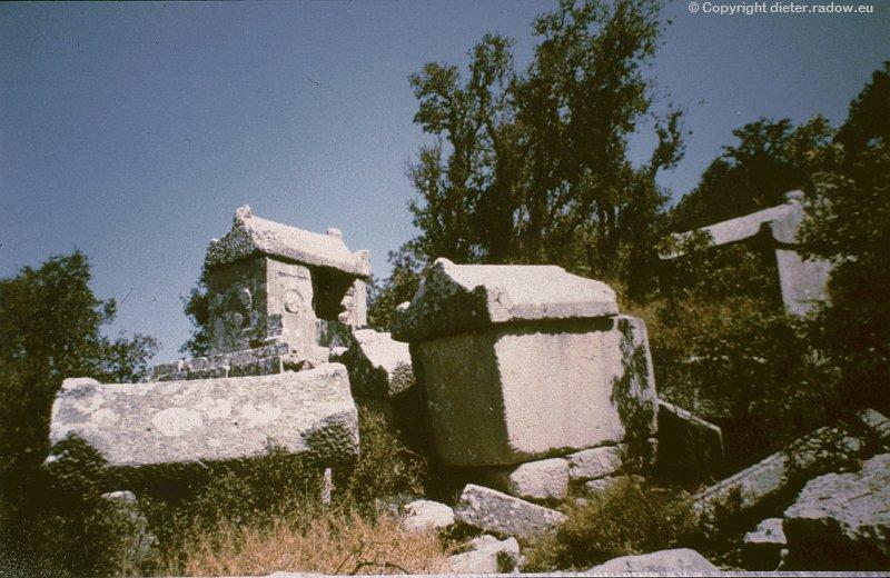 Türkei Termessos: griechische Nekropole