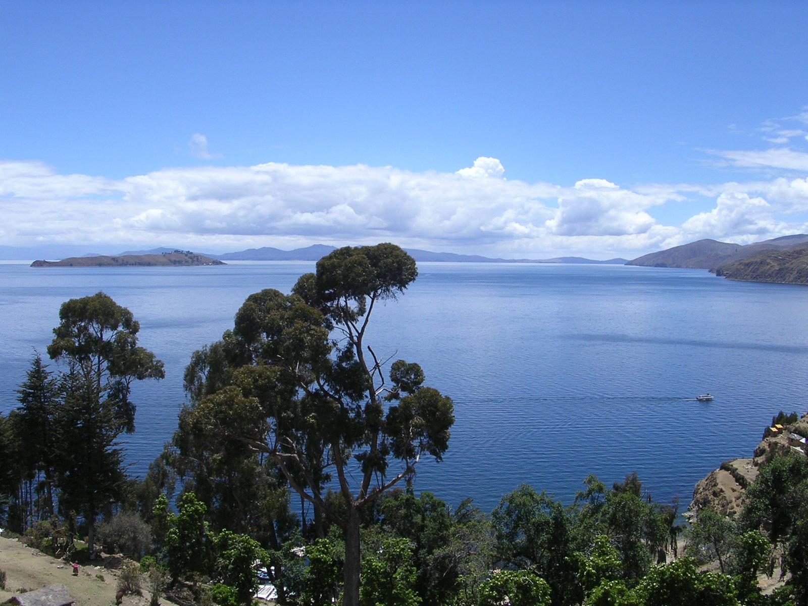 Bolivien Titikakasee