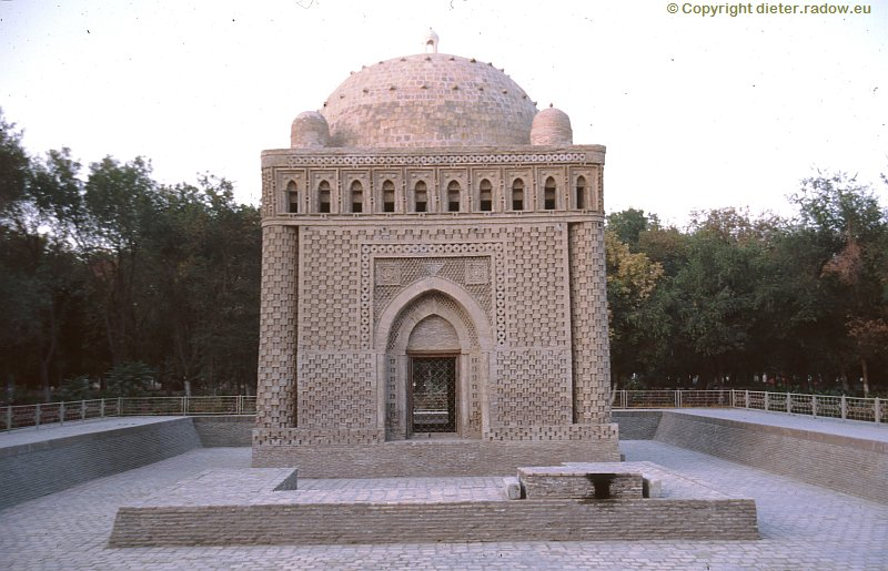 Usbekistan Buchara Mausoleum der Samaniden (~890 n Chr)