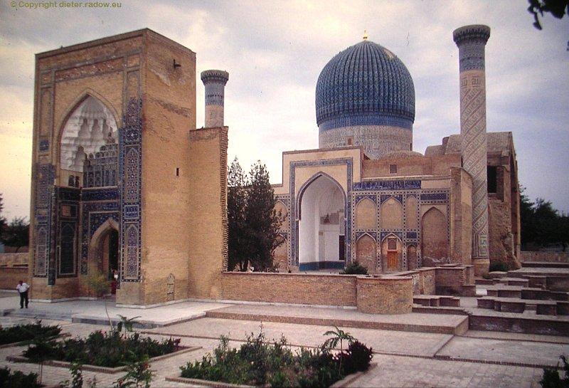 Usbekistan Samarkand Grabmoschee von Timur
