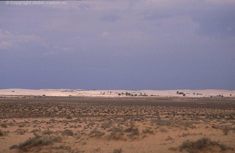 Lybien Halbwüste